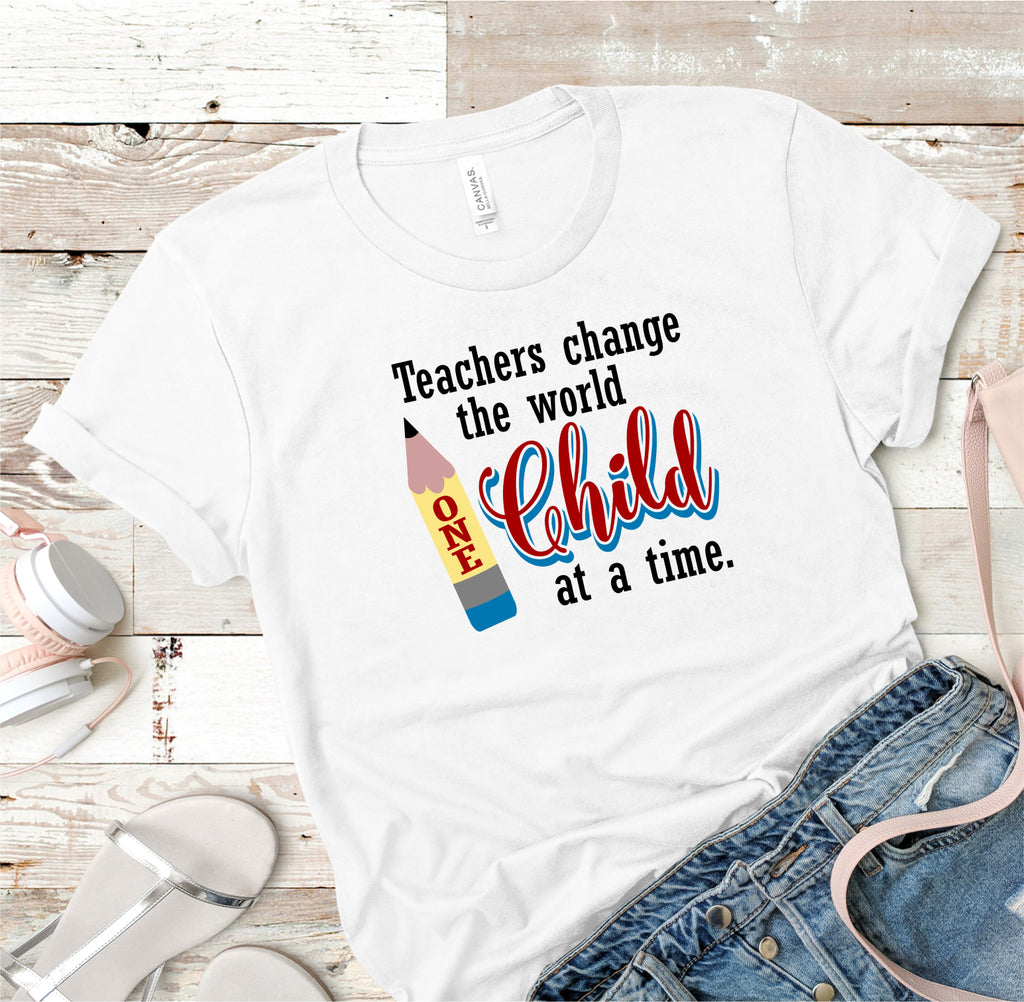 Teacher's Change The World Tee
