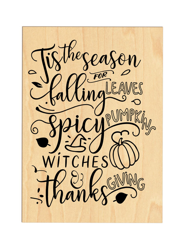Tis The Season For... Wooden Sign sign - TruColors Art & Design