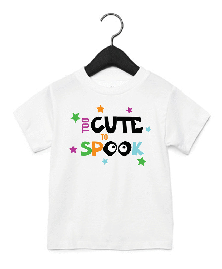 Too Cute To Spook Kids T-Shirt T-Shirts - TruColors Art & Design