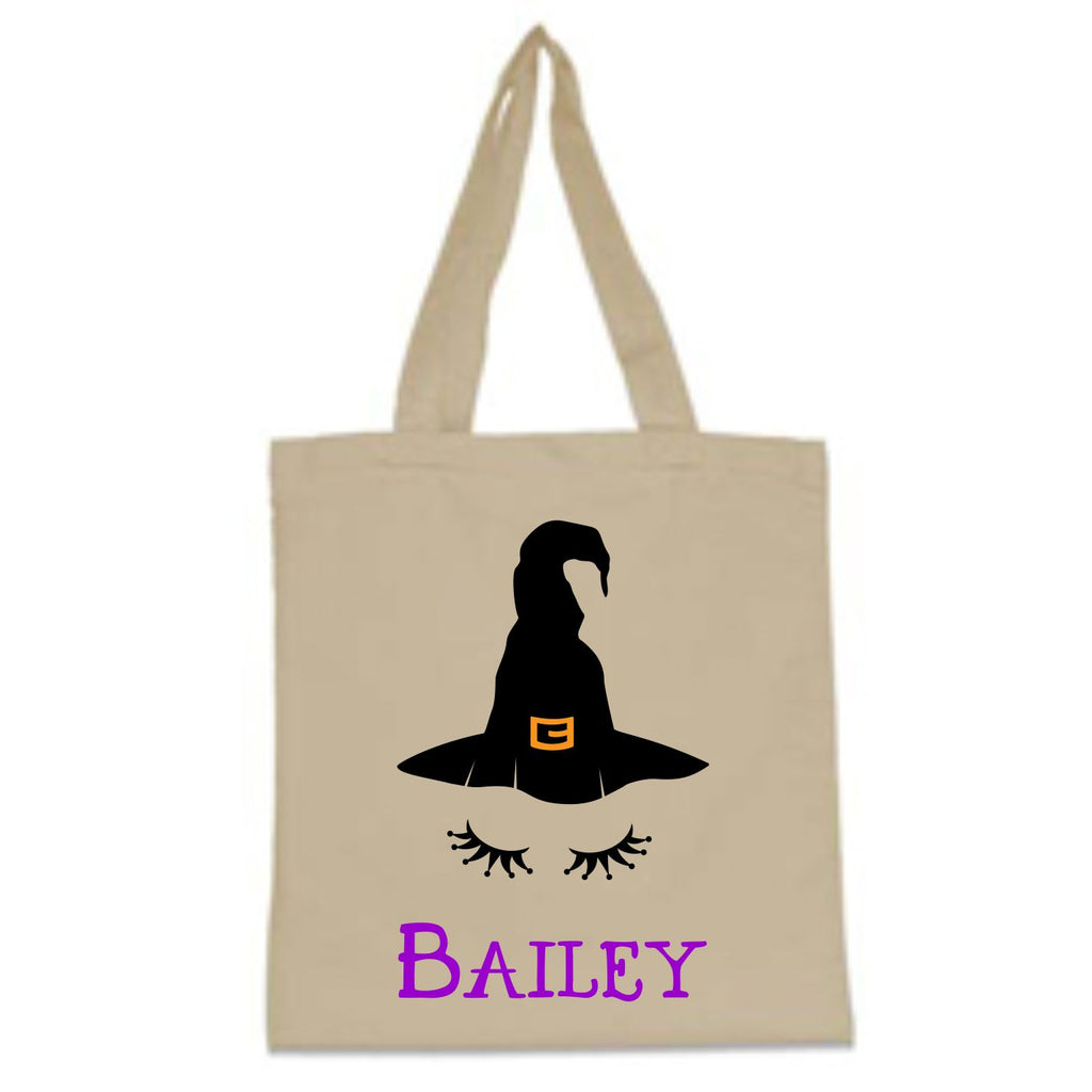 Personalized Witch Trick-Or-Treat Bag Bags - TruColors Art & Design
