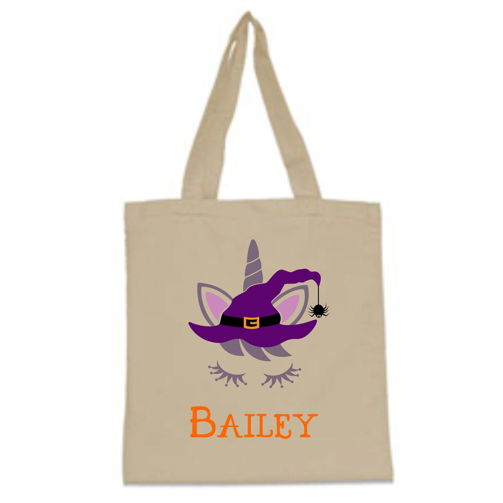 Unicorn Halloween Trick-Or-Treat Bag Bags - TruColors Art & Design