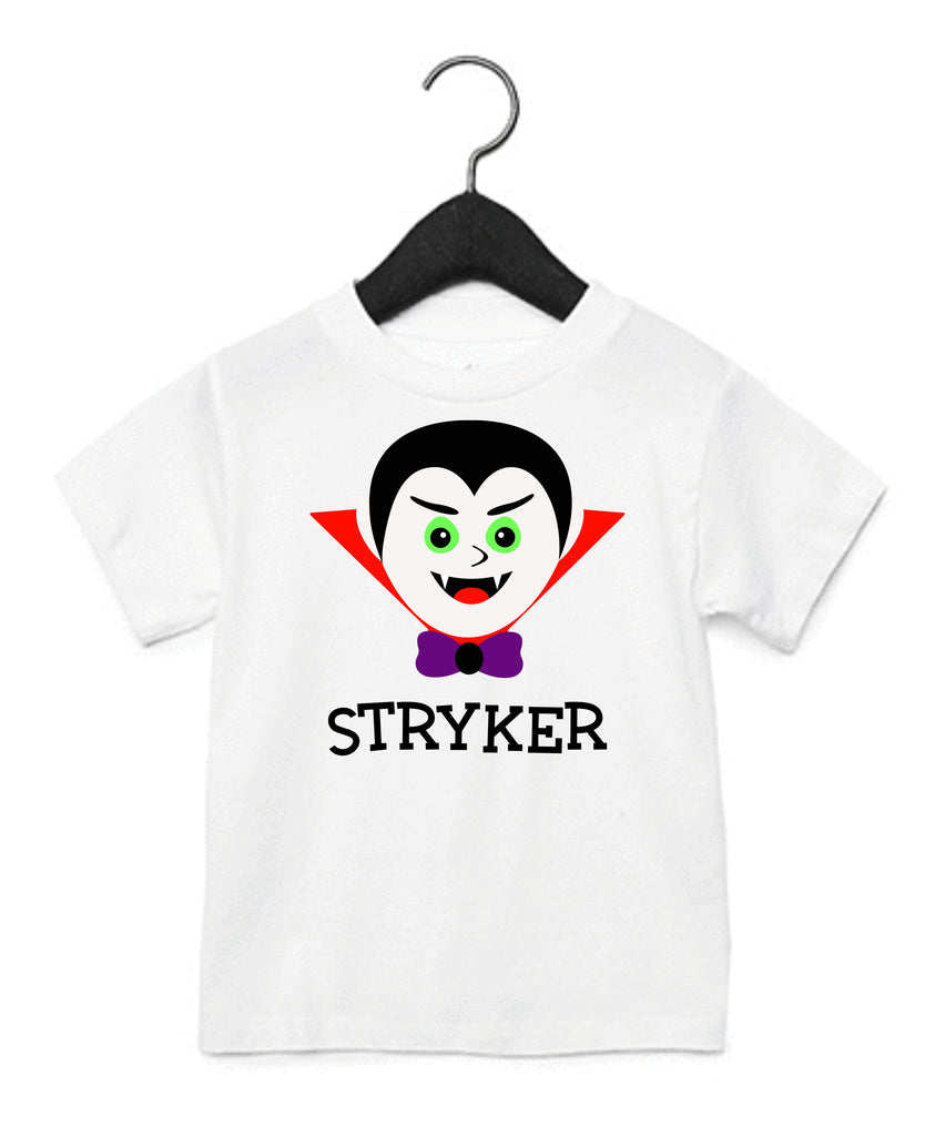 Personalized Vampire Kids T-Shirt T-Shirts - TruColors Art & Design