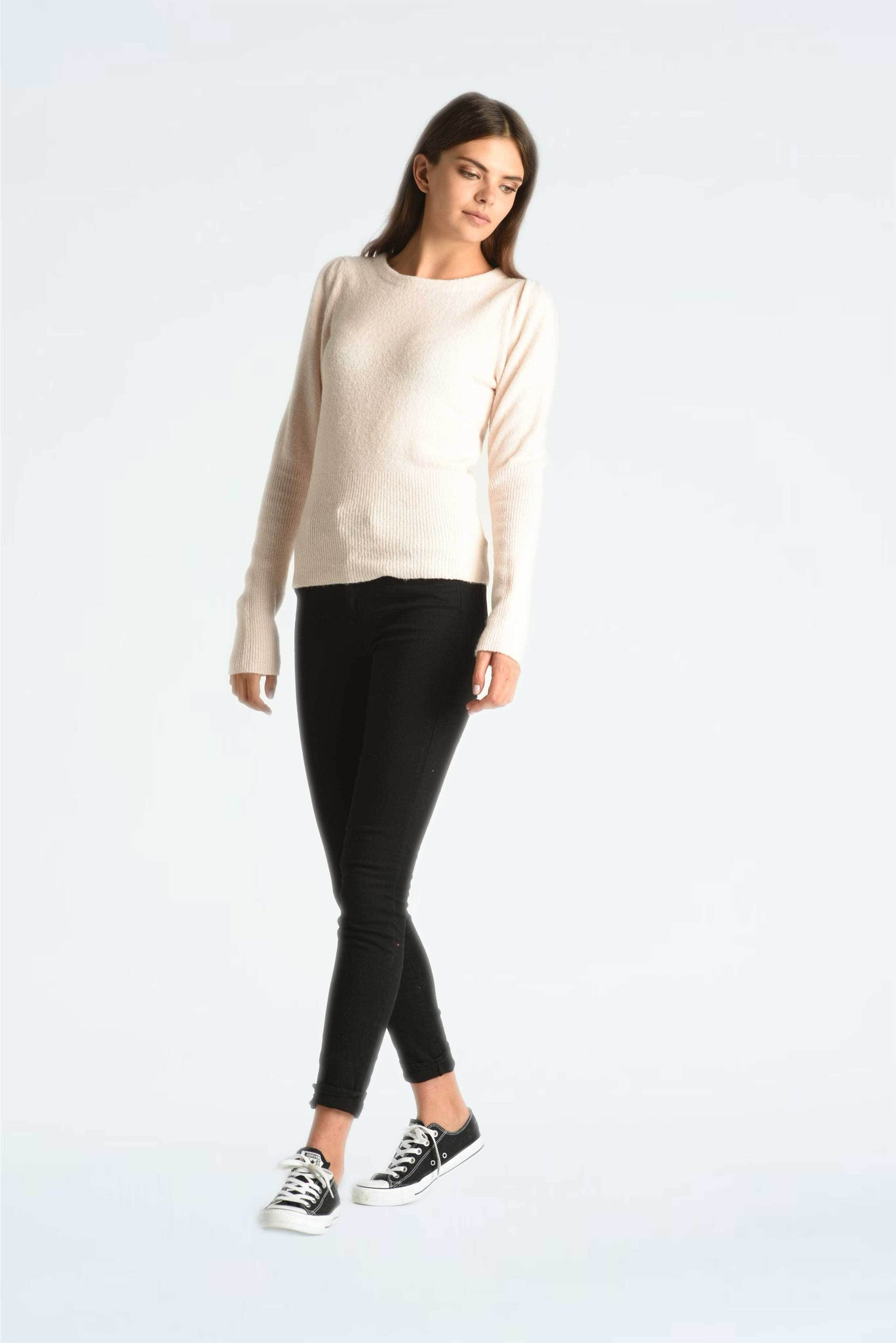 Puff Sleeves Pullover