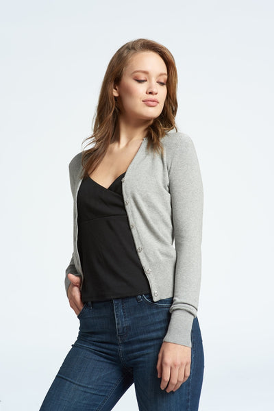 Classic Ribbed Cardigan