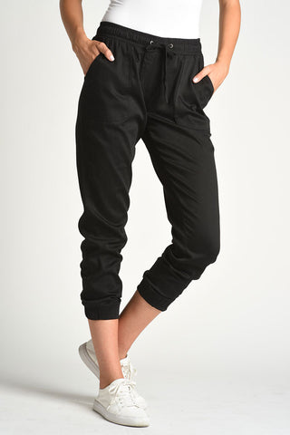 Joggers with Patch Pockets