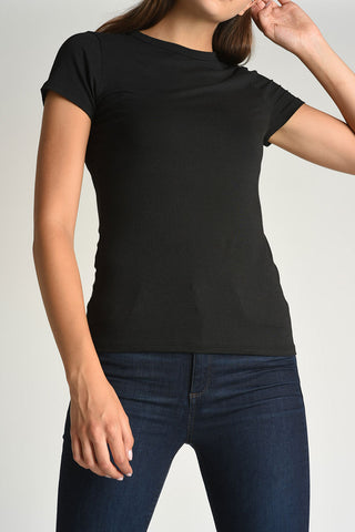 Cap Sleeves T-Shirt