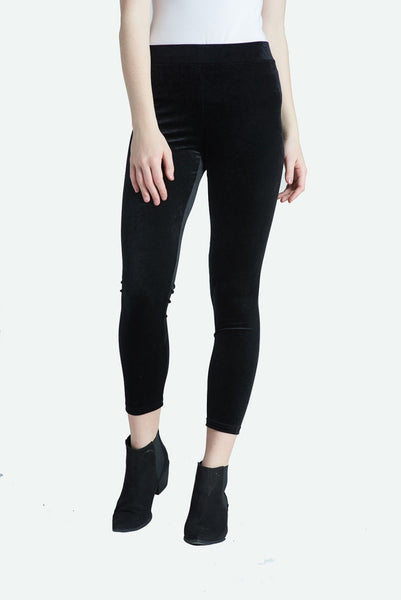 Panne Velvet Leggings