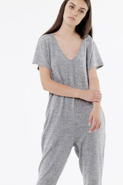 Cozy Plush Jumpsuit