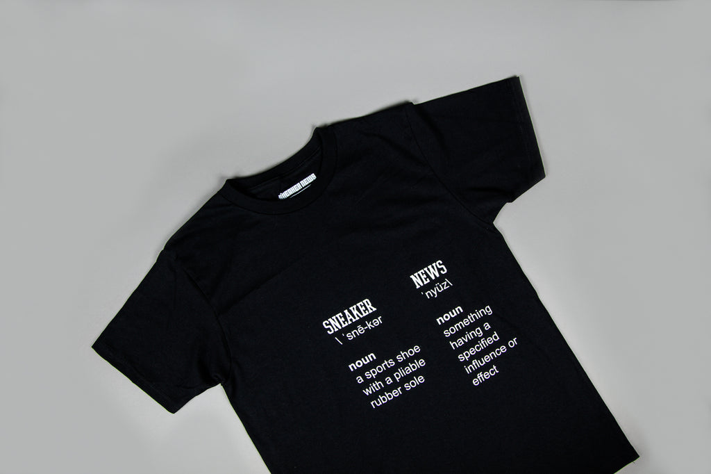 "Sneaker News ""Definition"" Tee"