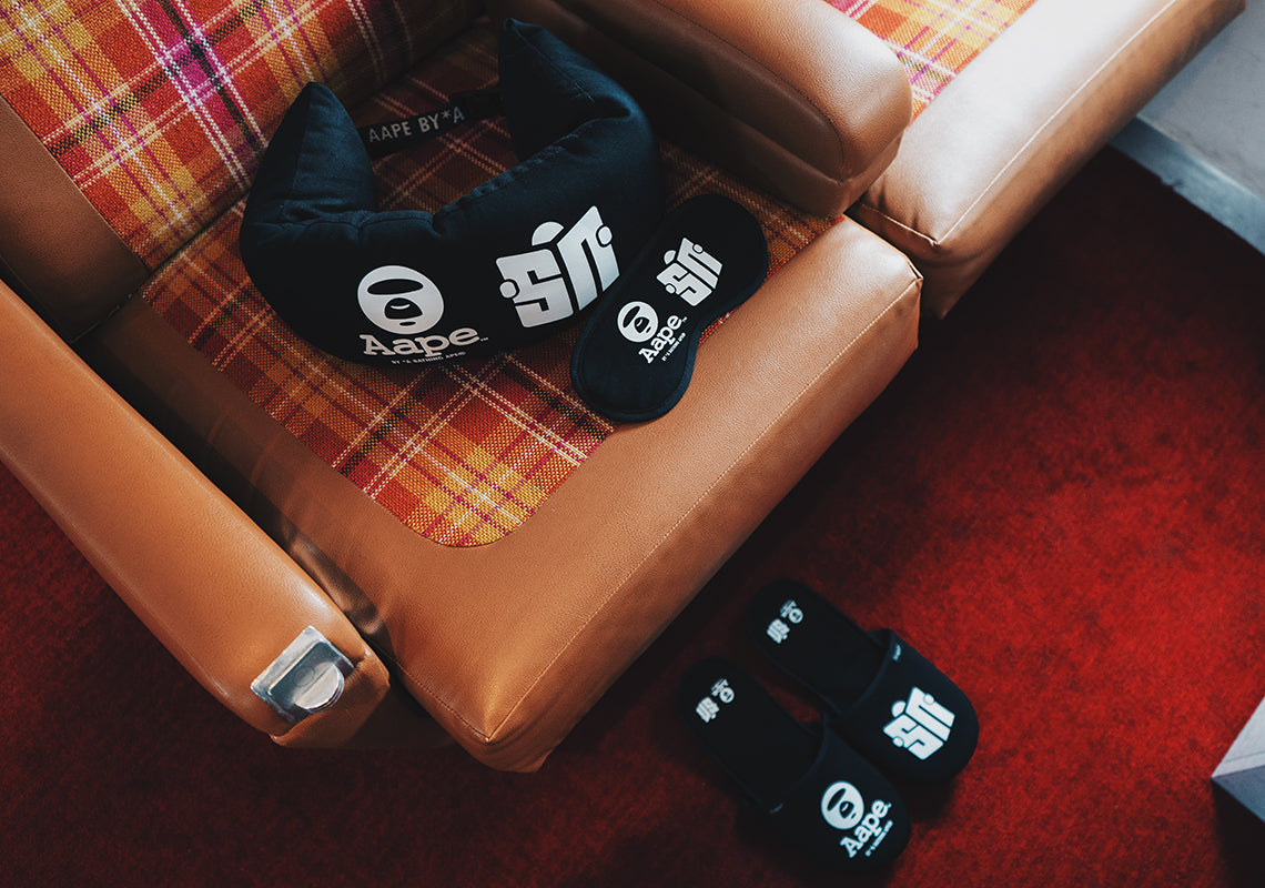 Sneaker News x AAPE by *A Bathing Ape® Travel Kit