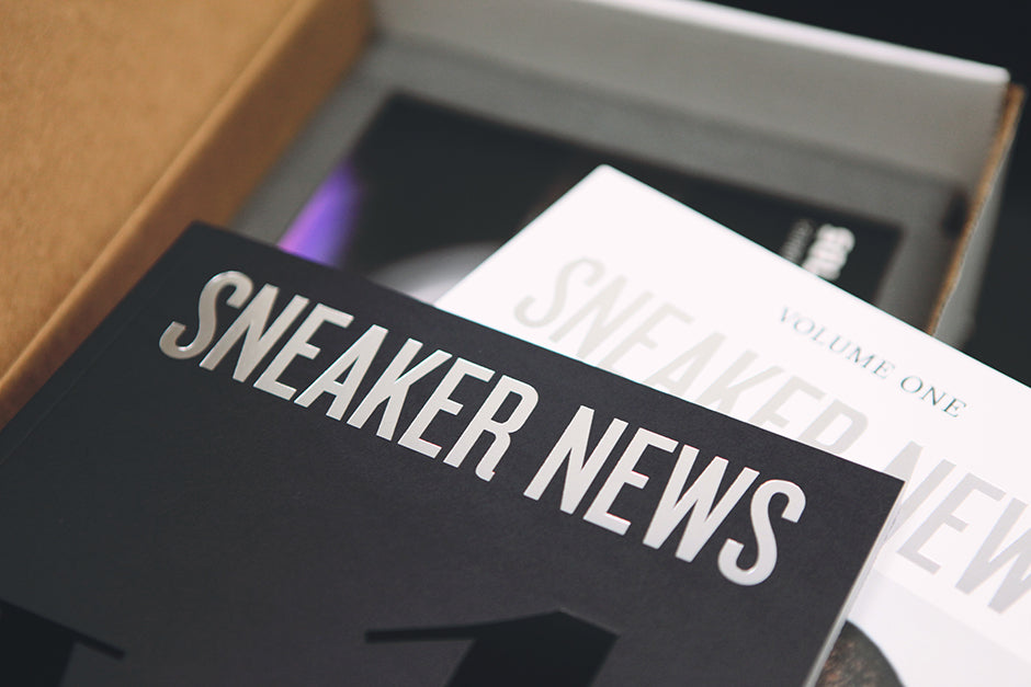Sneaker News Magazine Vol. 1 (Limited Edition)