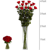 4 Feet Tall Collection – Red Roses