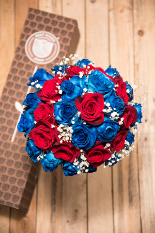 American Flag Bouquet