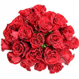 Red Hearts Rose Bouquet