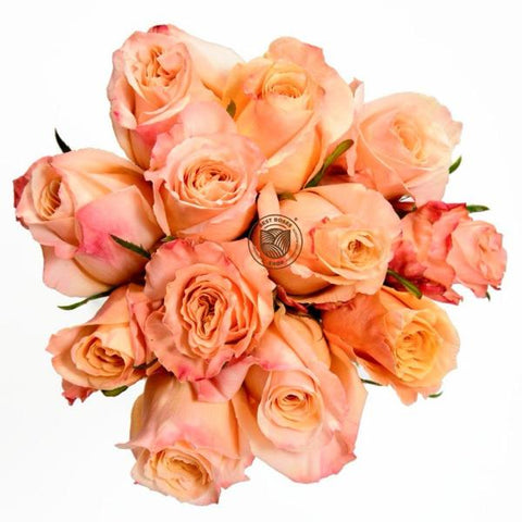 Mother's Day Peachy Rose Bouquet