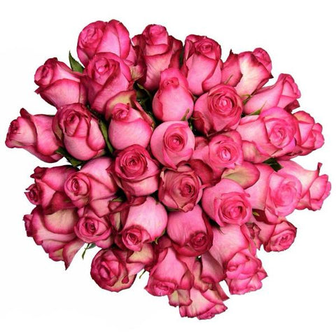 Pure Pink Rose Bouquet