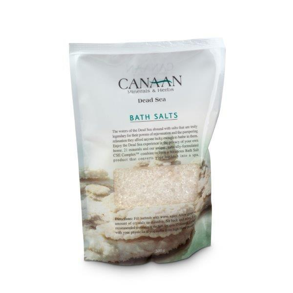 Canaan Dead Sea Relaxing Bath Salts  - Beaute Premier