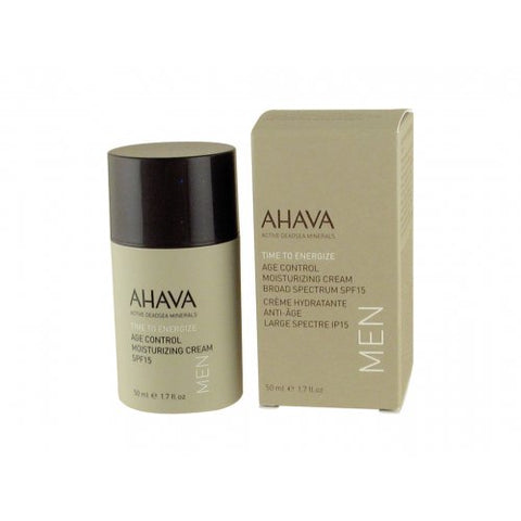 AHAVA Age Control Moisturizing Cream SPF15 for Men - Beaute Premier