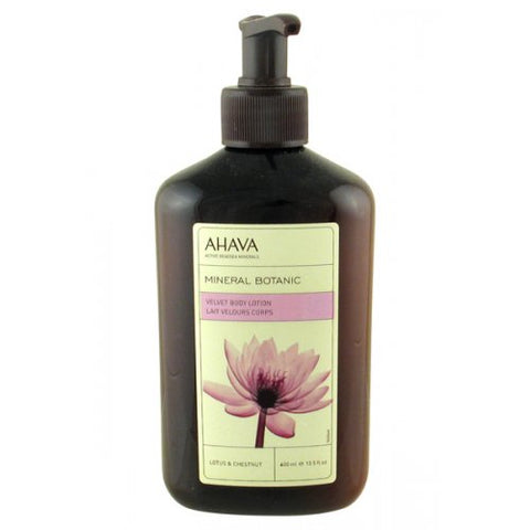 AHAVA Botanic Velvet Body Lotion - Lotus & Chestnut - Beaute Premier