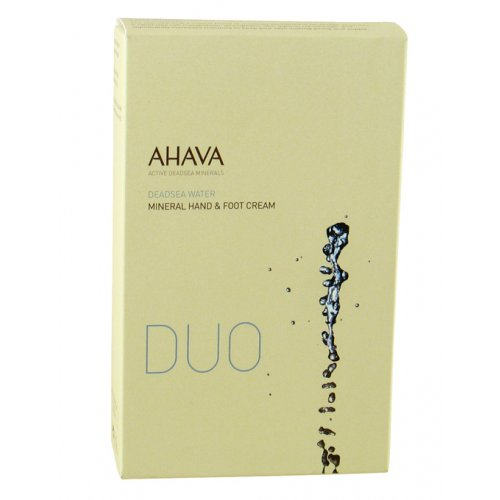 AHAVA Mineral Duo Kit - Hand & Foot Creams - Beaute Premier