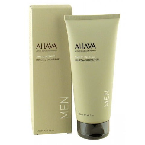 AHAVA Mineral Shower Gel for Men - Beaute Premier