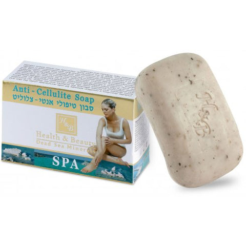 H&B Dead Sea Anti Cellulite Massage Soap - Beaute Premier