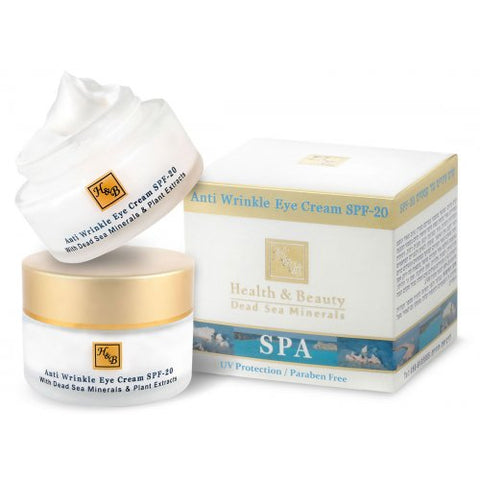 H&B Dead Sea Anti-Wrinkle Eye Cream SPF-20 - Beaute Premier
