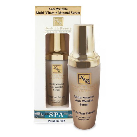 H&B Dead Sea Multi-Vitamin Anti-Wrinkle Serum - Beaute Premier