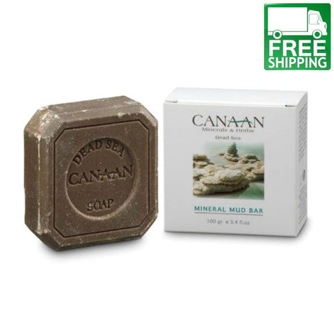 Canaan Soap Bar with Dead Sea Mineral Mud - Beaute Premier