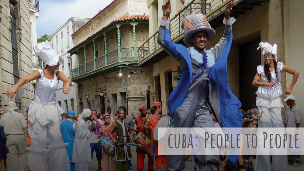 Cuba: People to People