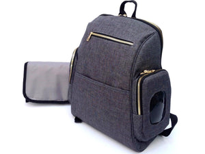 PAÑALERA BACKPACK GRIS