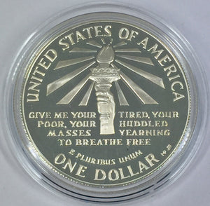 1986 S Liberty Dollar USA 90% Silver