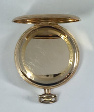 Victorian Howard GF Pocket Watch with Original Box and Receipt Circa 1918-19
