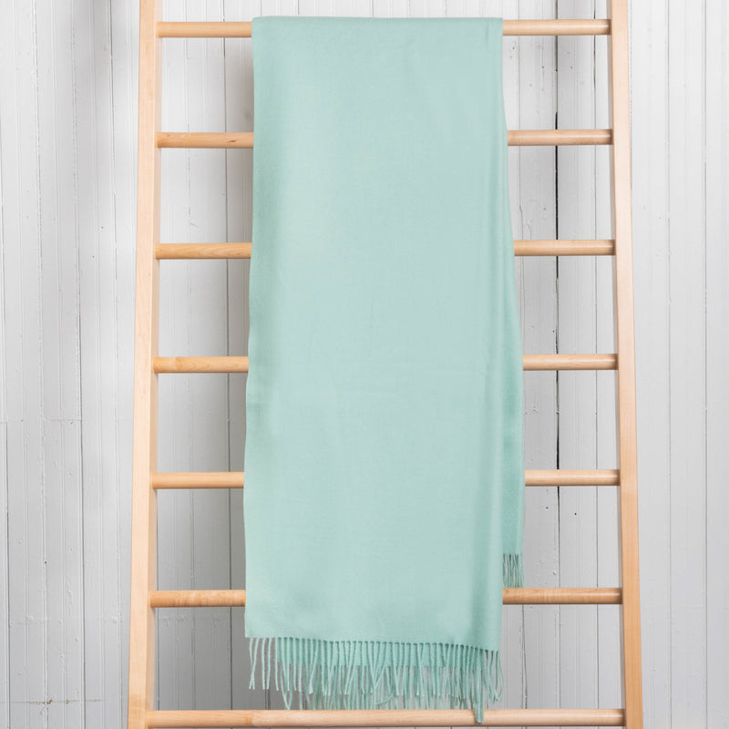 Fluff Alpaca Solid Throws