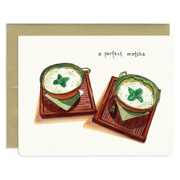 'A Perfect Matcha' Card