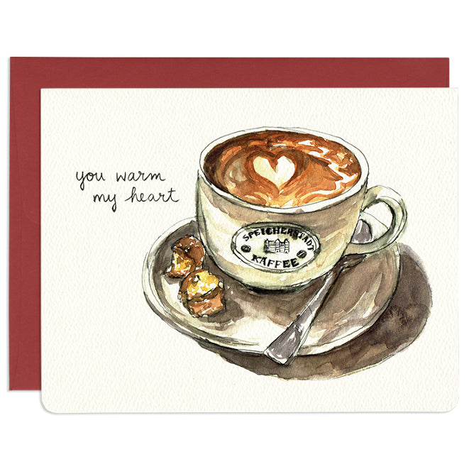 'You Warm My Heart' Card