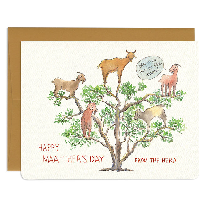 'You're the Tops' Mother's Day Card