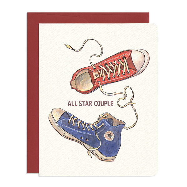 'All Star Couple' Greeting Card