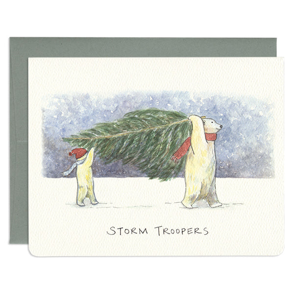 'Storm Troopers' Holiday Card