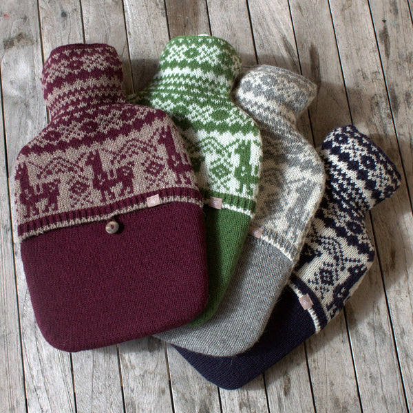 Samantha Holmes Fair Isle Hot Water Bottle