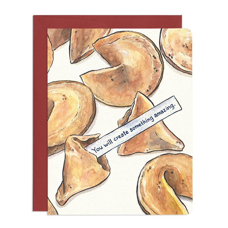 'Smart Cookie' Greeting Card