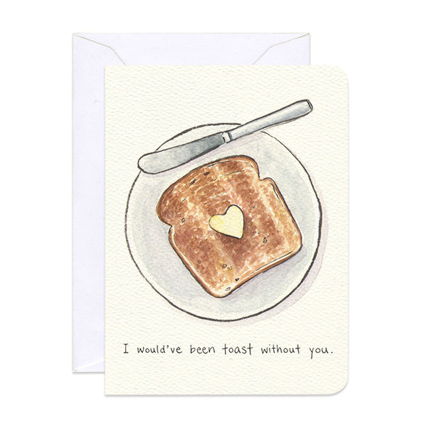 'Thankful Toast' Petite Card