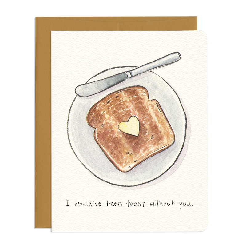 'Thankful Toast' Card