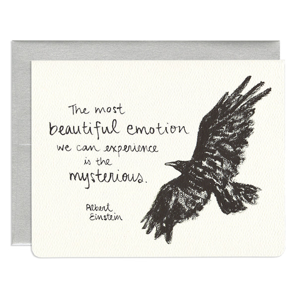'Raven Greeting Card'