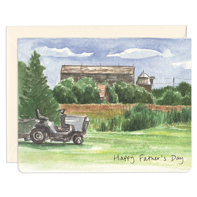 'Tractor Dad' Father's Day Card