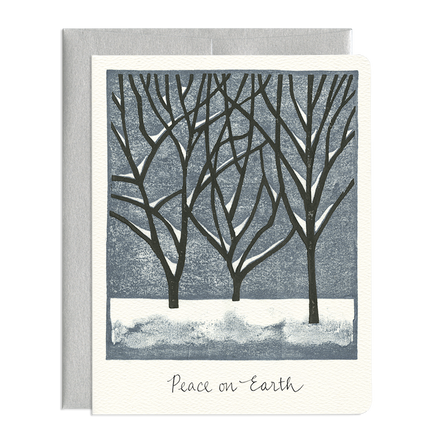 'Peace on Earth' Greeting Card