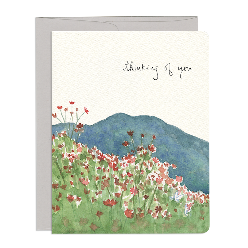 'Thinking of you' Greeting Card