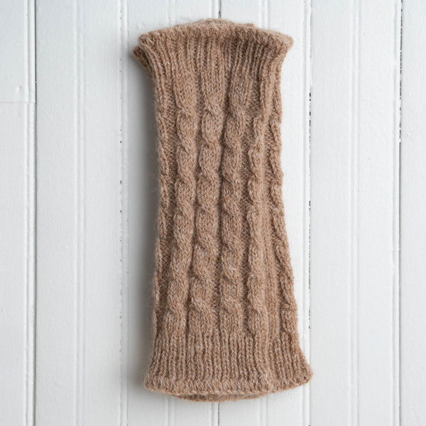 Cable Knit Wrist Warmers