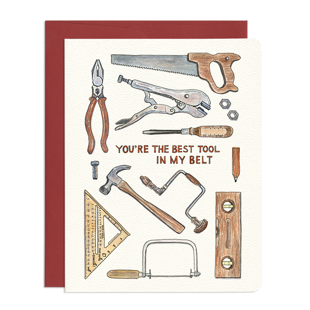 'Best Tool' Father's Day Card