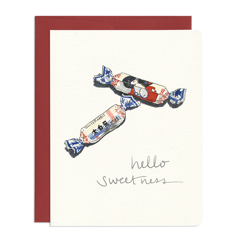 'Hello Sweetness' Card